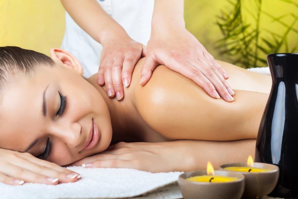 Aroma olejová masáž