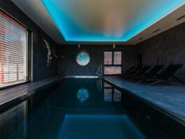 Bazén v The Spa Barok